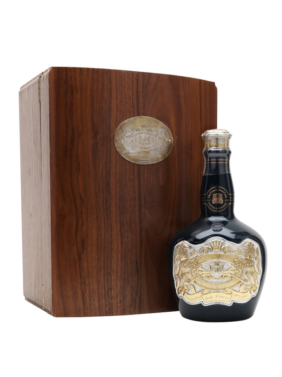 Royal Salute 50 Year Old / Coronation Cask