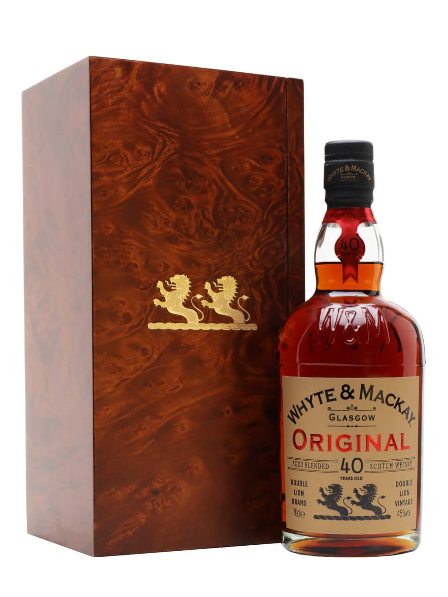 Whyte & Mackay 40 Years Old
