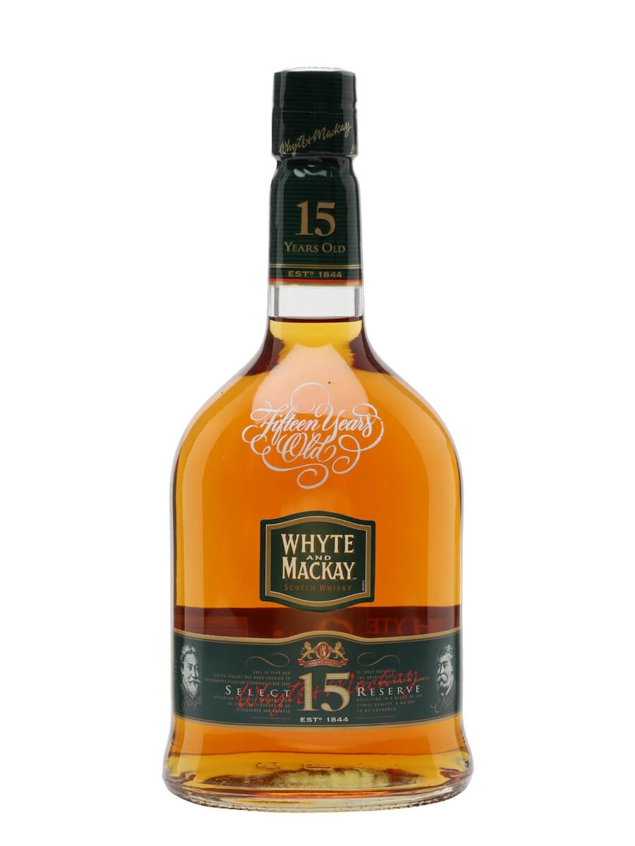 Whyte & Mackay 15 Year Old / Select Reserve