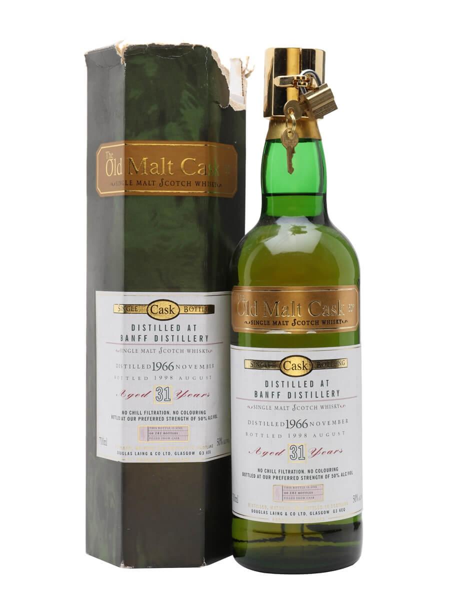 ed51cdf410f Banff 1966 31 Year Old Old Malt Cask. 70cl   50%. Highland Single Malt  Scotch Whisky ...