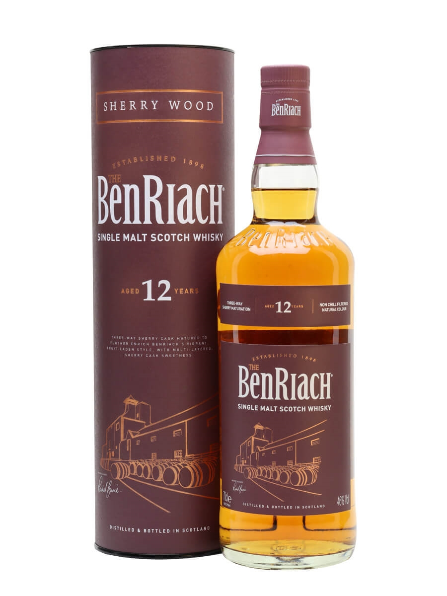 Review No.251. Benriach Sherry Wood 12 Year Old