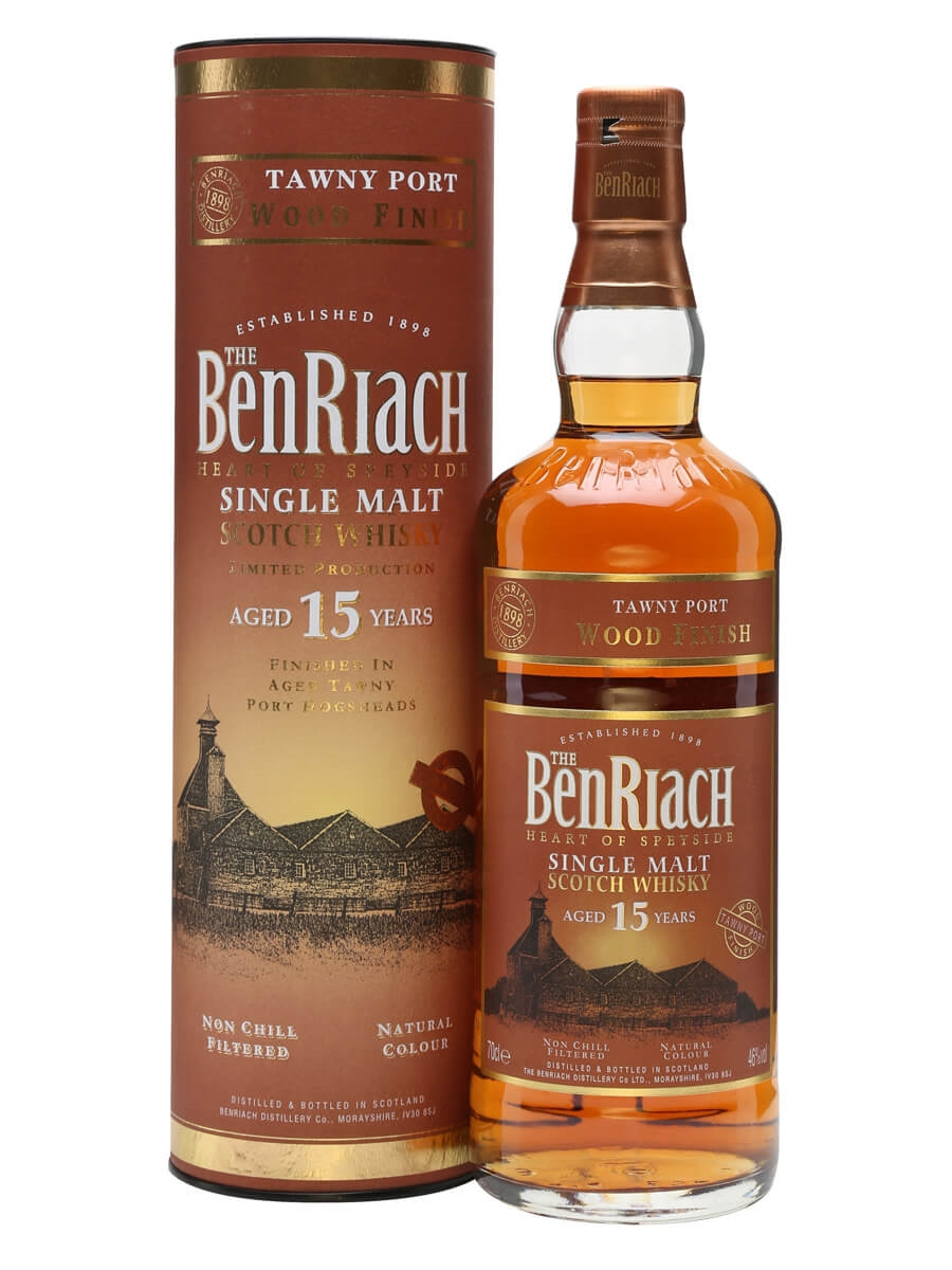 Benriach 15 Year Old / Tawny Port Wood Finish