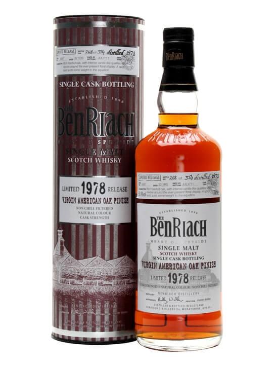 Benriach 1978 / 32 Year Old / Virgin Oak Finish