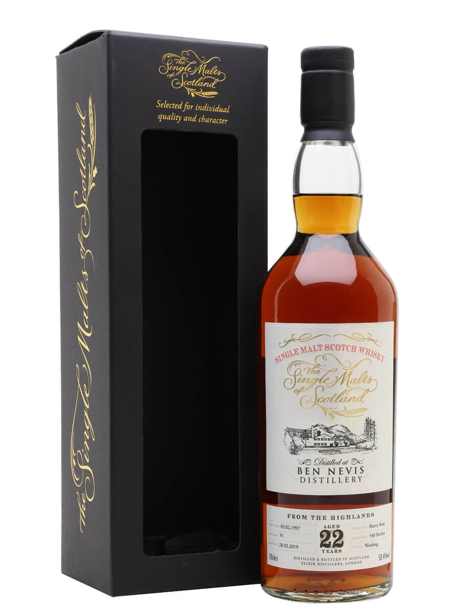 Ben Nevis 1997 / 22 Year Old / Sherry Cask / SMoS