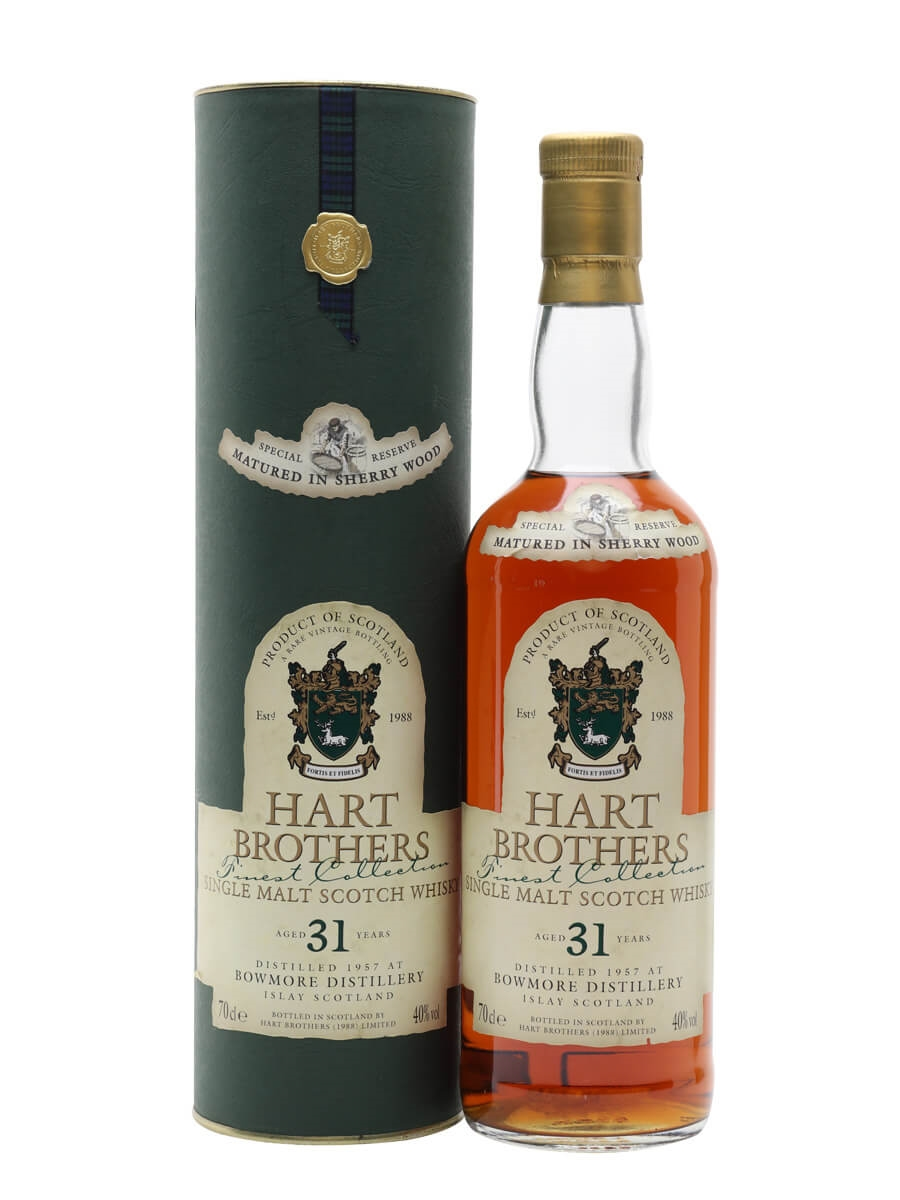 Bowmore 1957 / 31 Year Old / Sherry Cask / Hart Brothers