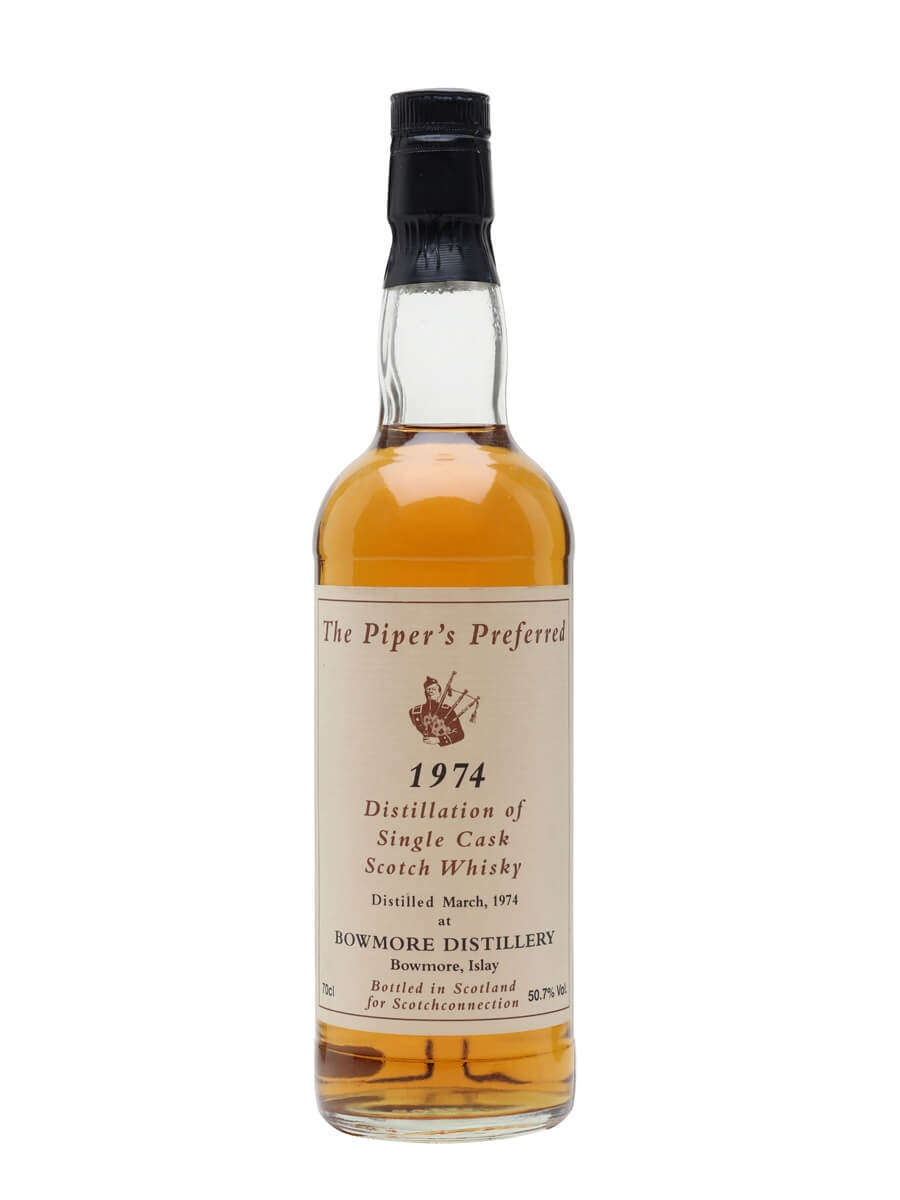 Bowmore 1974 / Scotchconnection / The Piper's Preferred
