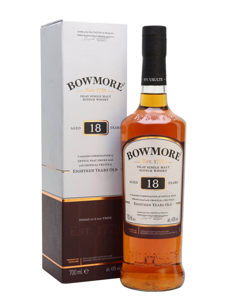 Review No.210. Bowmore 18 Year Old