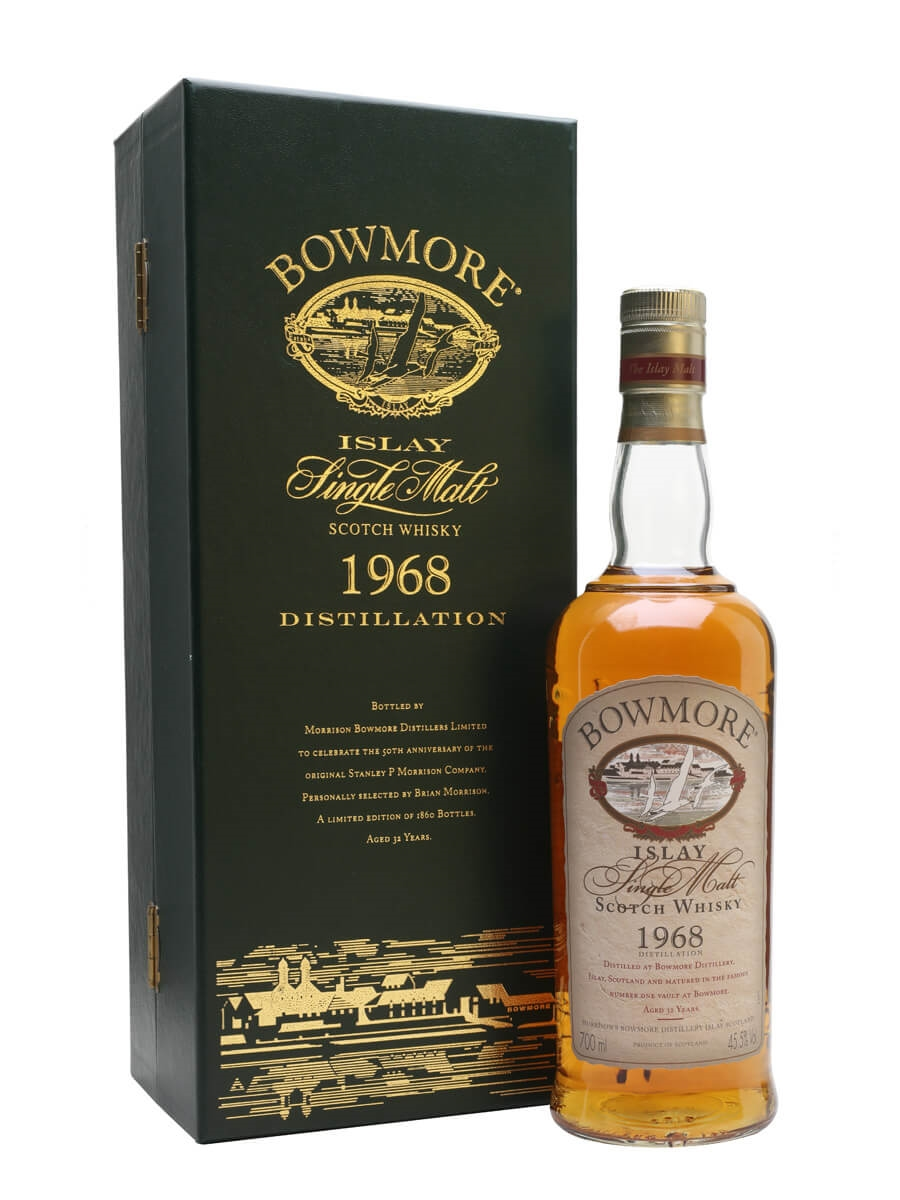 Bowmore 1968 / 32 Year Old / 50th Anniversary
