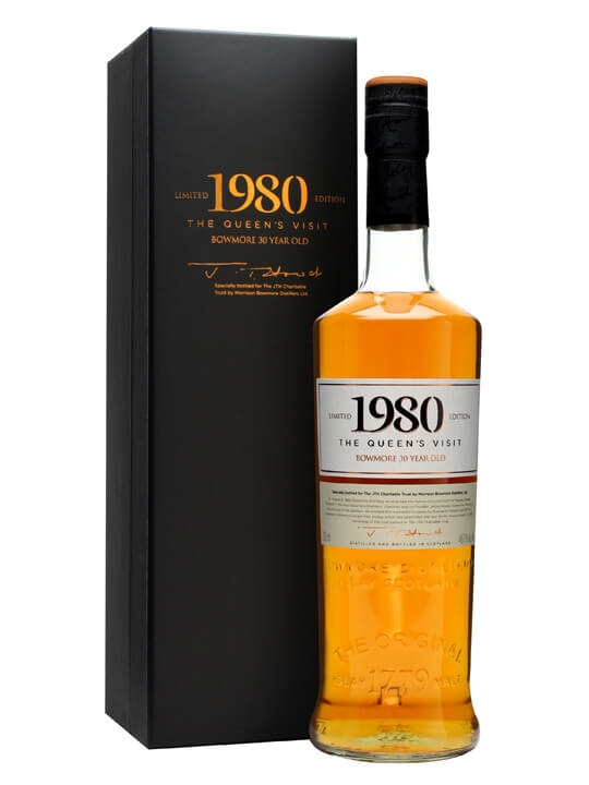 Bowmore 1980 / 30 Year Old / Queen's Visit to Distillery
