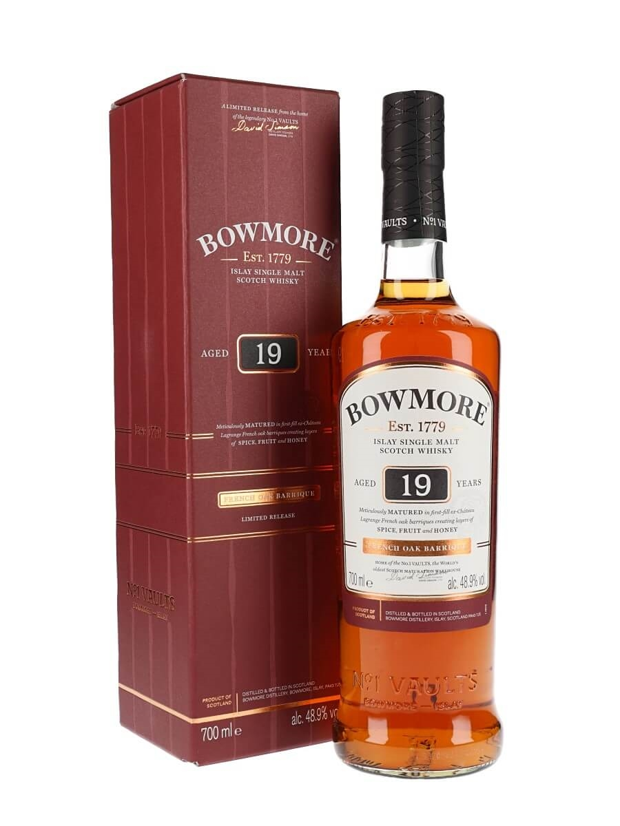 Bowmore 19 Year Old / French Oak  Wine Barriques
