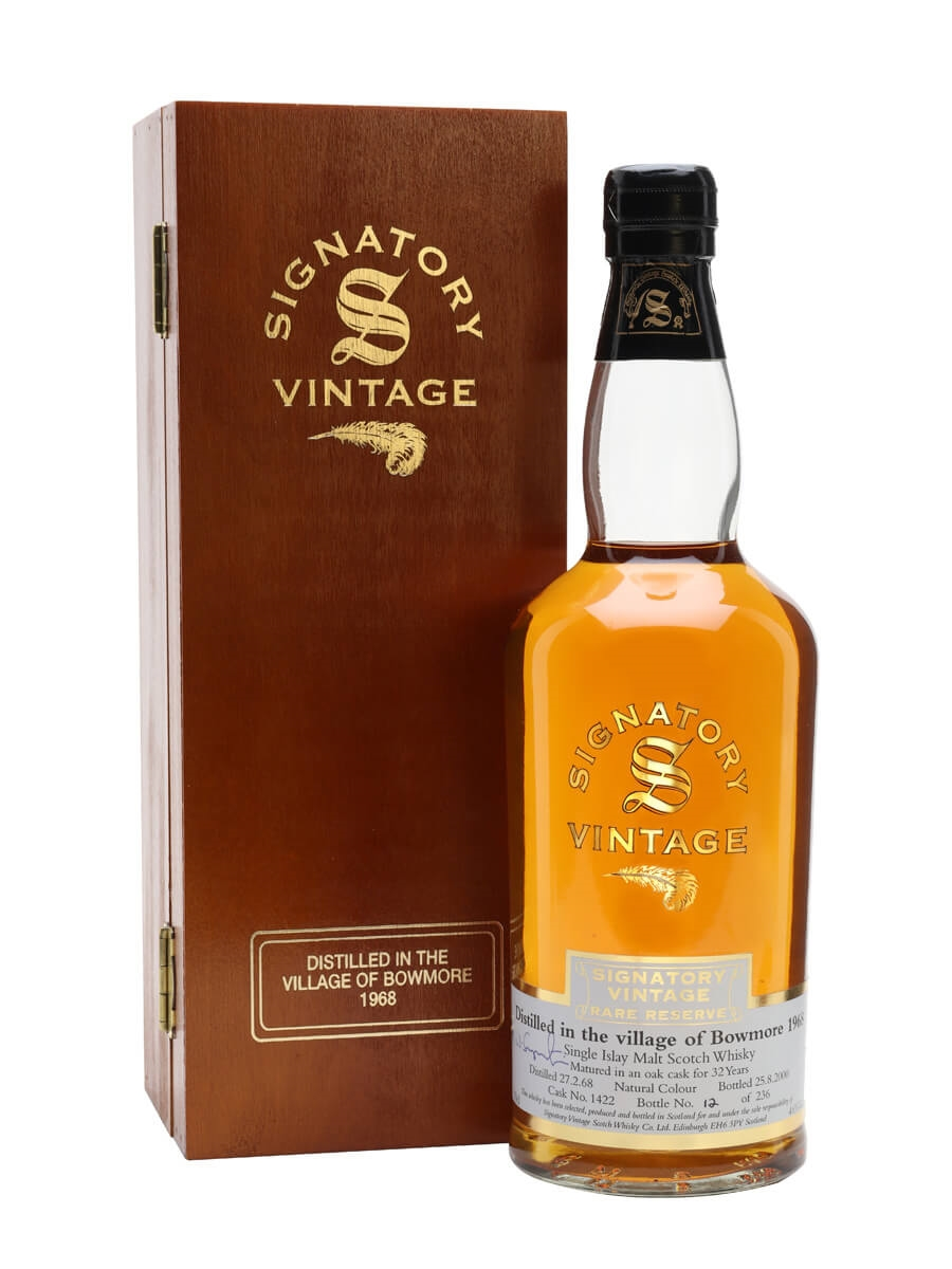 Bowmore 1968 / 32 Year Old / Rare Reserve / Cask #1422 / Signatory