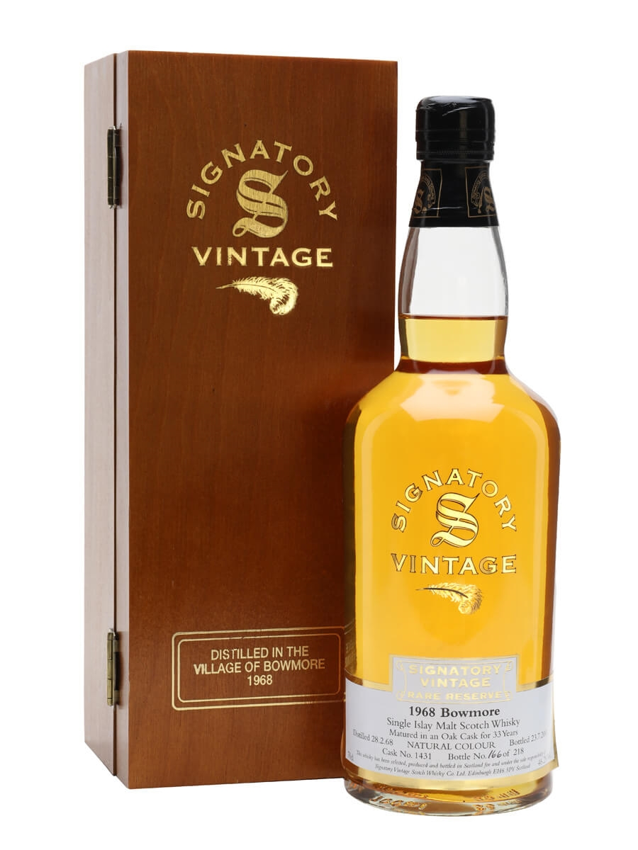 Bowmore 1968 / 33 Year Old / Rare Reserve / Cask #1431 / Signatory