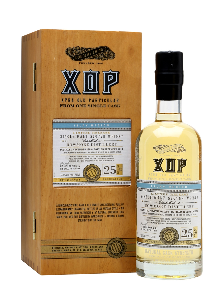 Bowmore 1989 / 25 Year Old / Xtra Old Particular