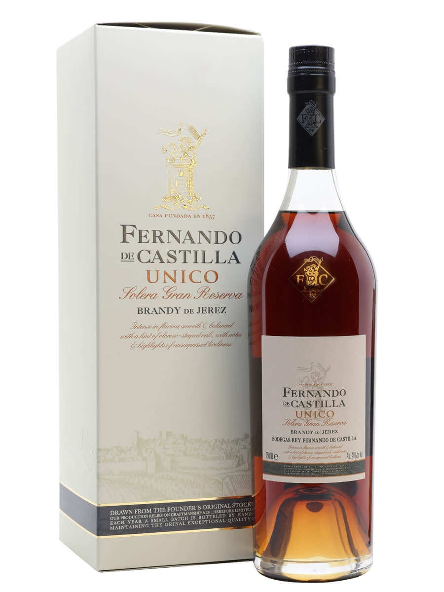 Fernando de Castilla Unico Gran Reserva Brandy