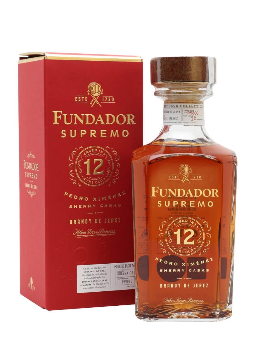 Fundador 12 / Pedro Ximenez Sherry cask