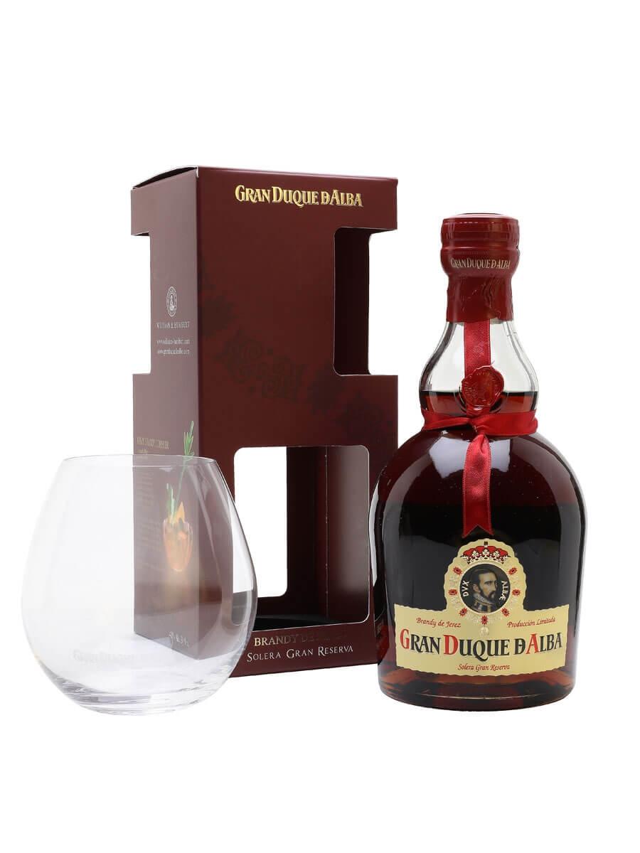 Gran Duque D'Alba Brandy de Jerez / Glass Pack