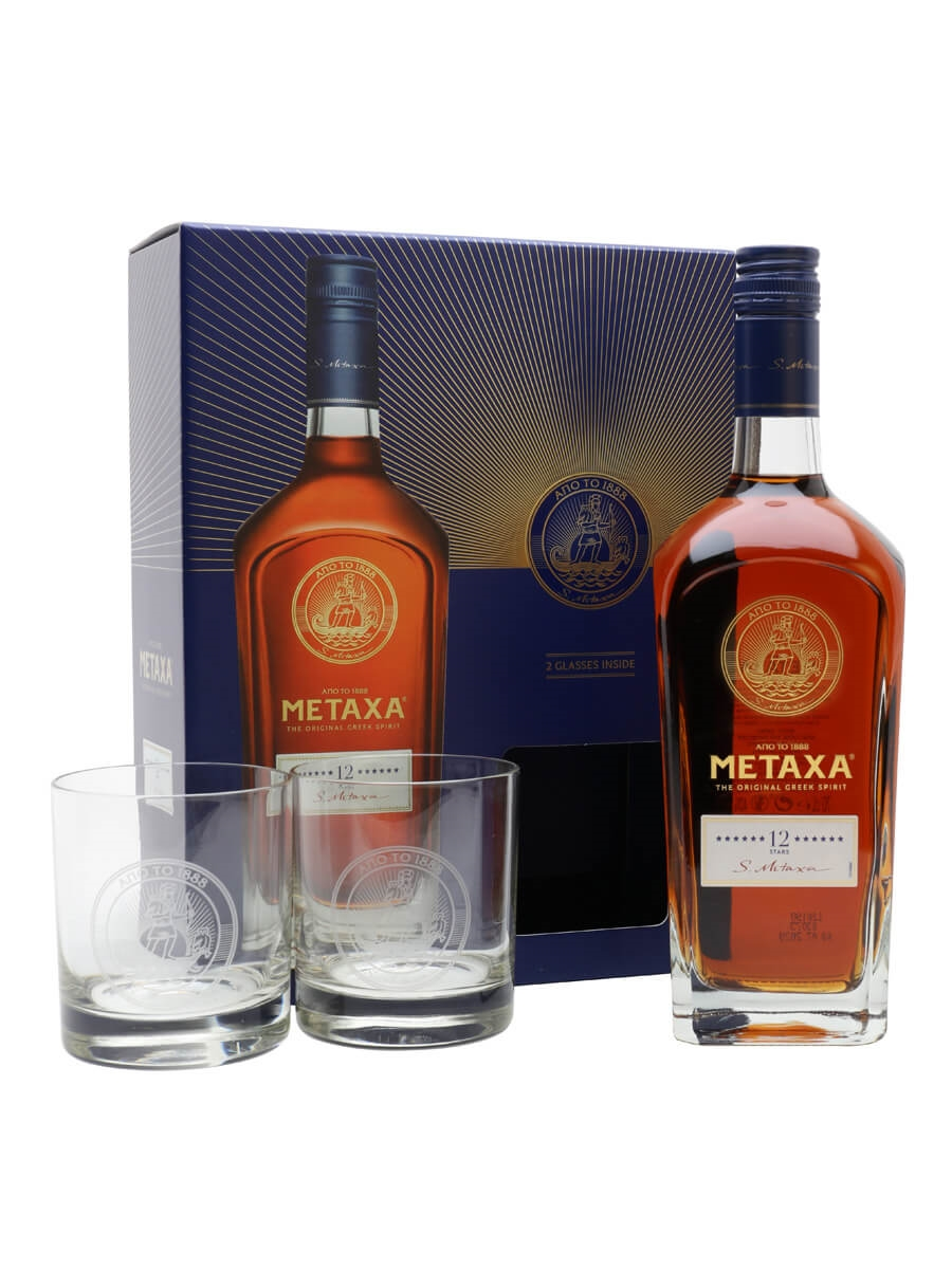 Metaxa 12 Star / Glass Pack