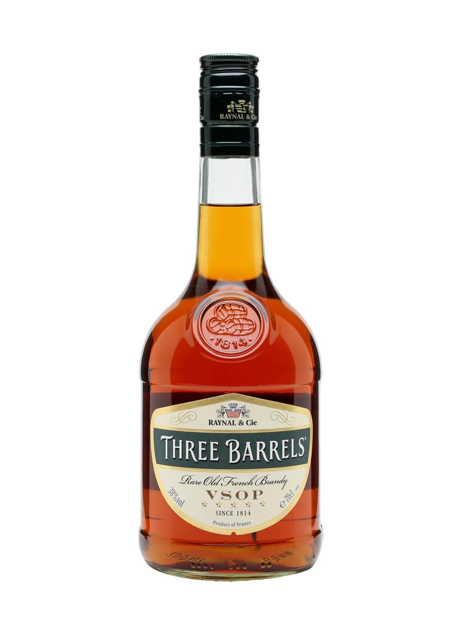 Three Barrels VSOP Brandy