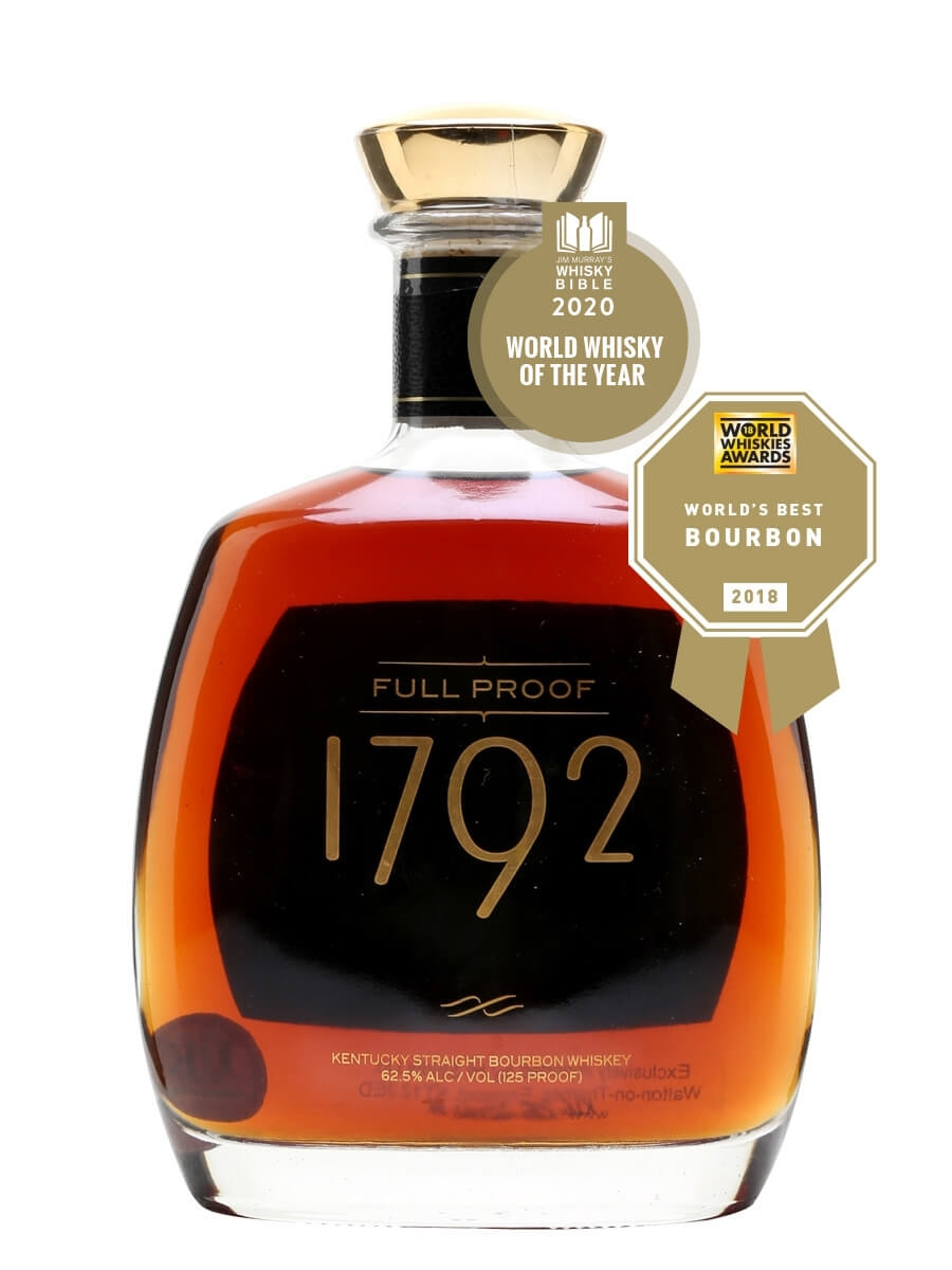1792 Full Proof Bourbon The Whisky Exchange