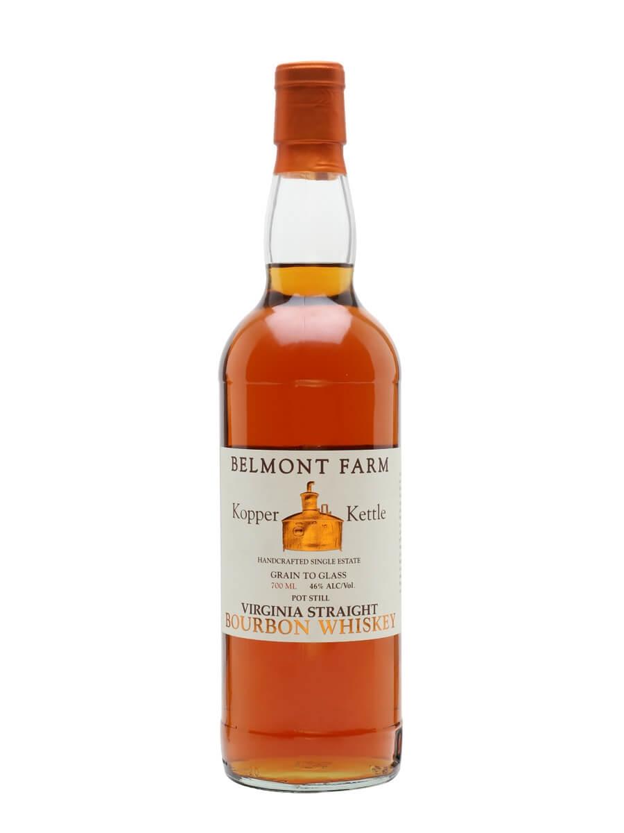 Kopper Kettle Virginia Straight Bourbon Whiskey / Belmont Farm