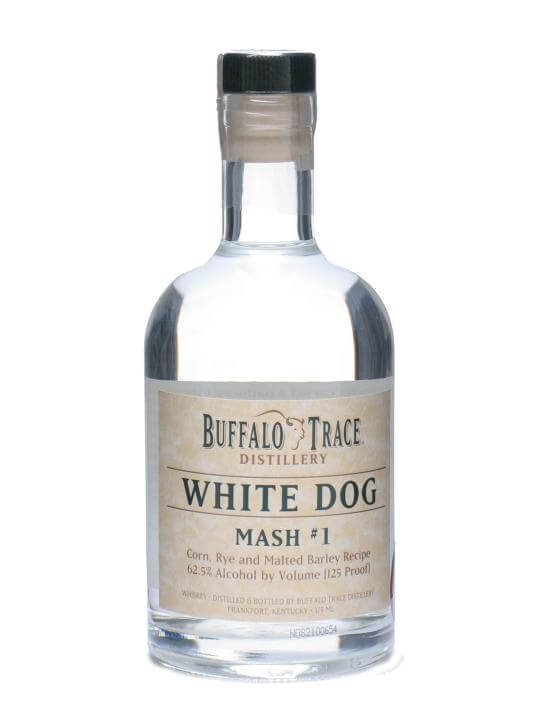 Buffalo Trace White Dog Mash 1 / Half Bottle