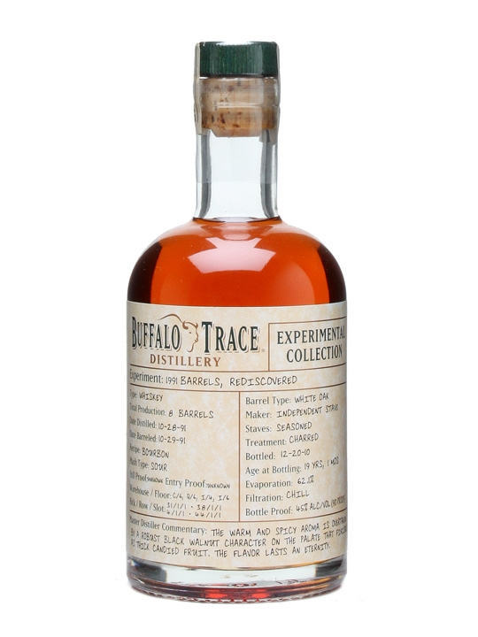Buffalo Trace 1991 / Experimental Collection 'Rediscovered'
