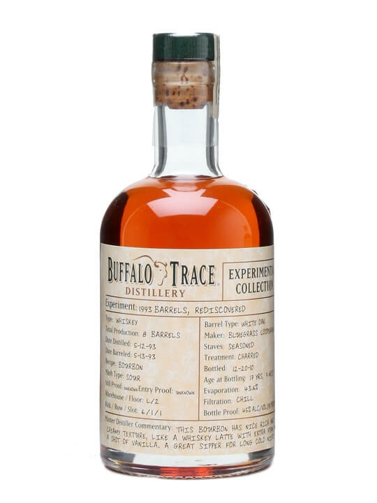 Buffalo Trace 1993 / Experimental Collection 'Rediscovered'