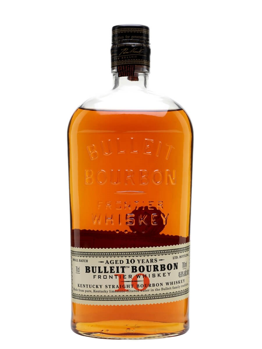 Bulleit 10 Year Old Bourbon : The Whisky Exchange