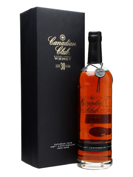 Canadian Club 30 Year Old / 150th Anniversary