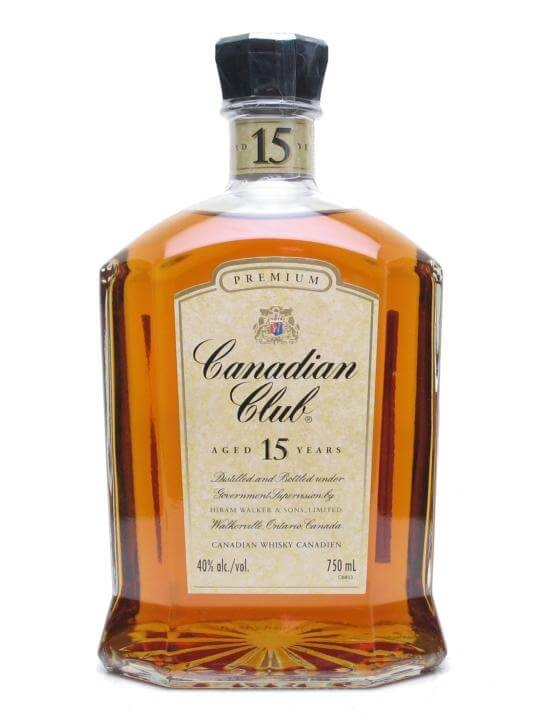 Canadian Club 15 Year Old The Whisky Exchange