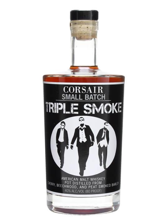 Corsair Small Batch Triple Smoke Single Malt Whiskey