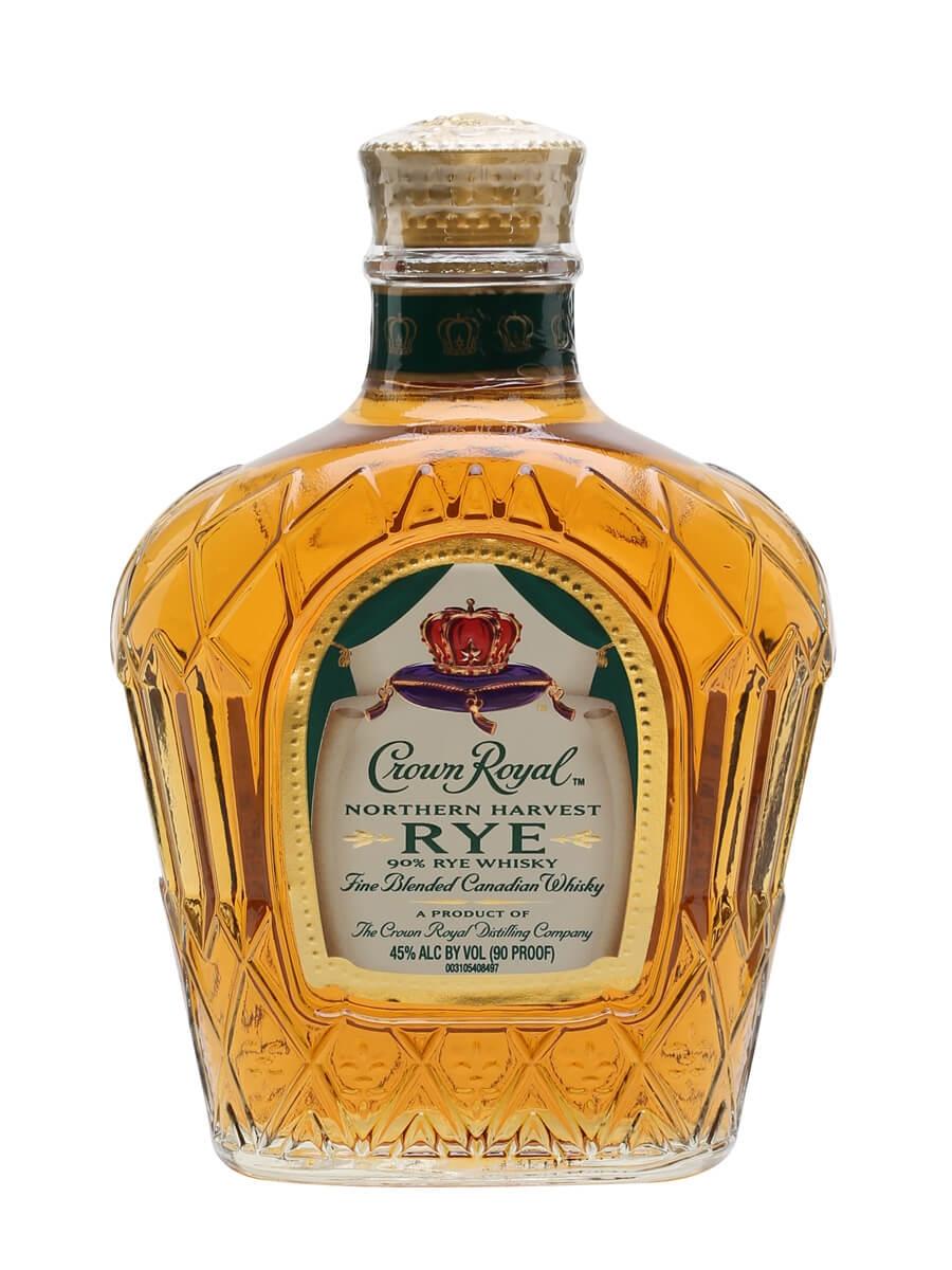 Crown Royal Northern Harvest Rye / Half Bottle