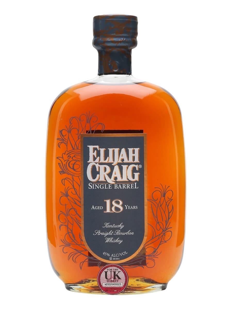 Populære Elijah Craig 18 Year Old : The Whisky Exchange VQ-08
