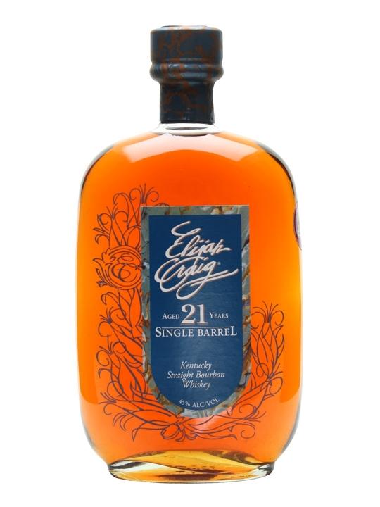 Elijah Craig 21 Year Old Single Barrel