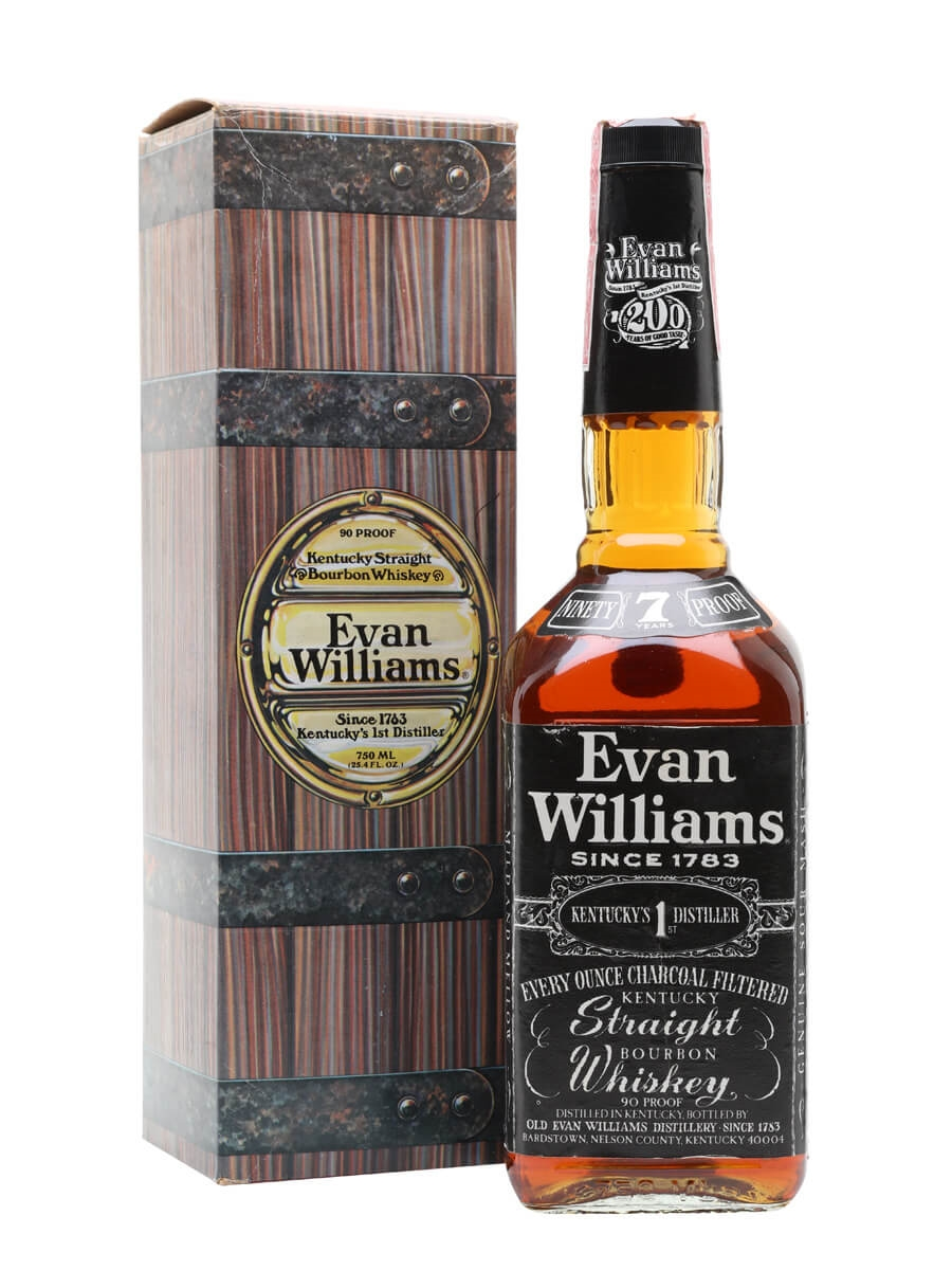 Evan Williams 7 Year Old / 200th Anniversary / Bot.1980s