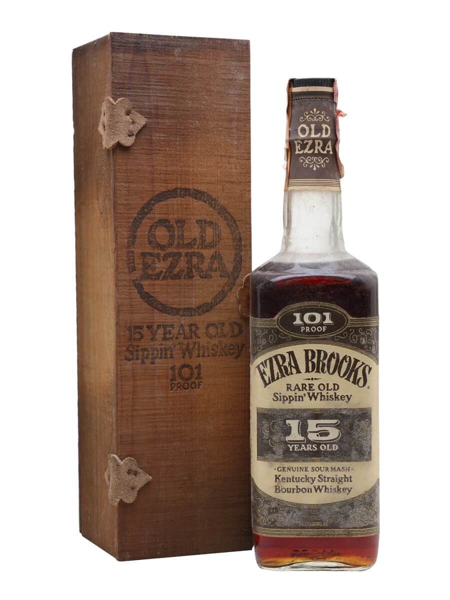 Ezra Brooks 15 Year Old / 101 Proof