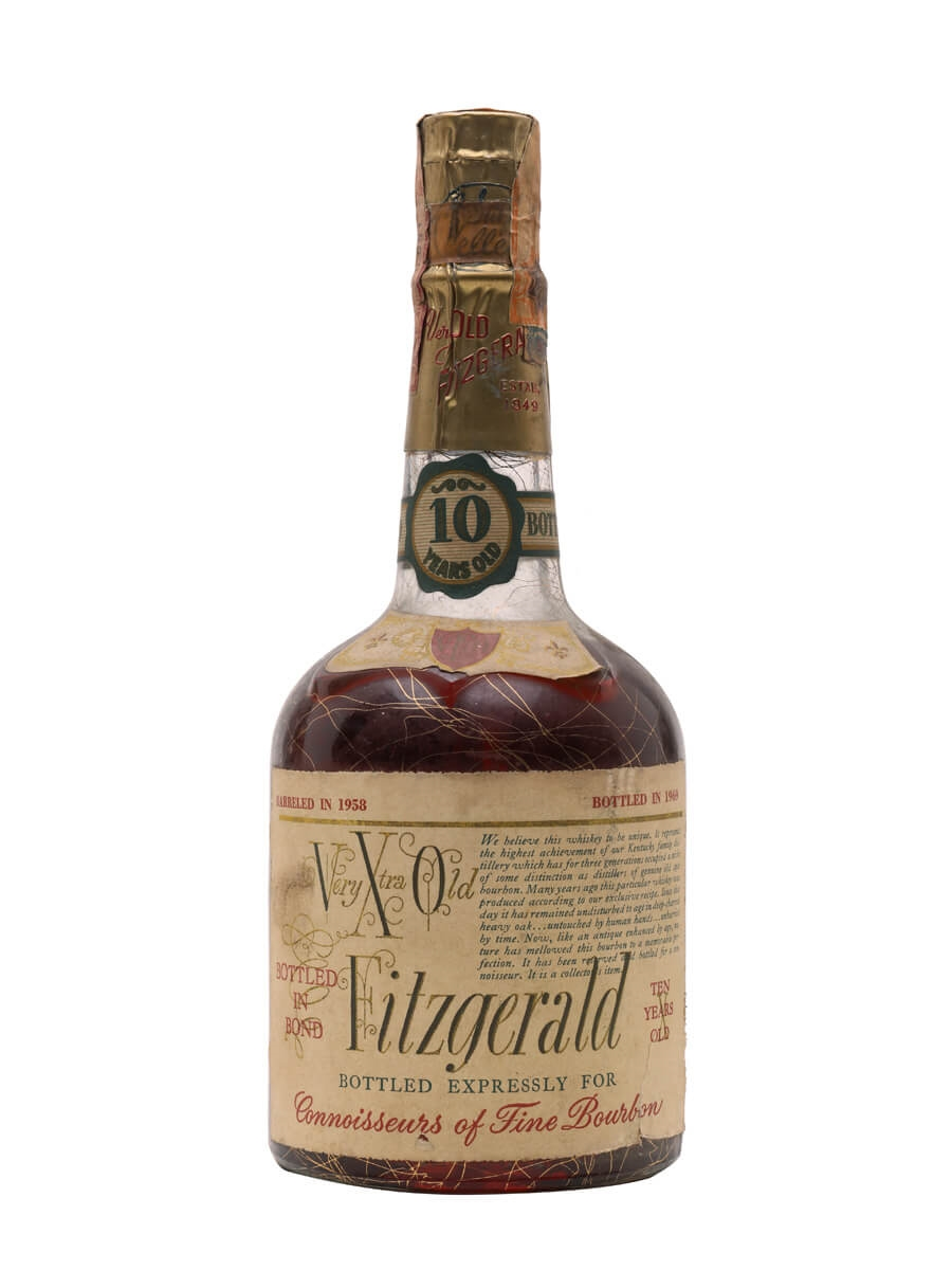 Old Fitzgerald 10 Year Old / Dist.1958
