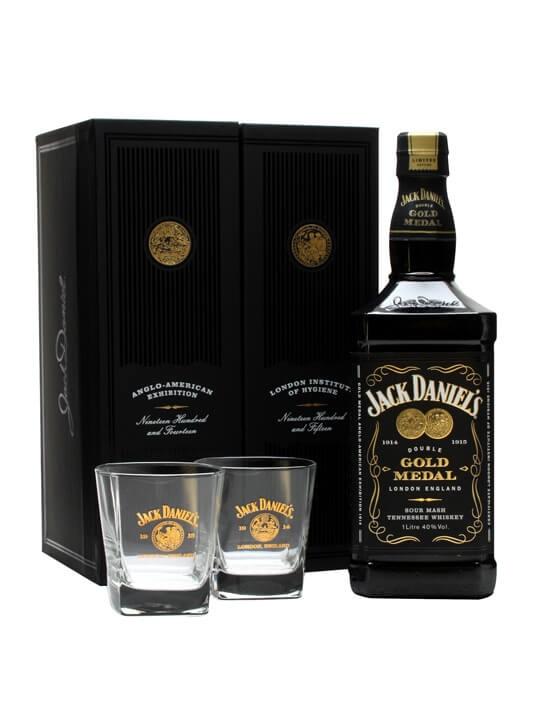 Jack Daniel's Double Gold Medal Gift Pack