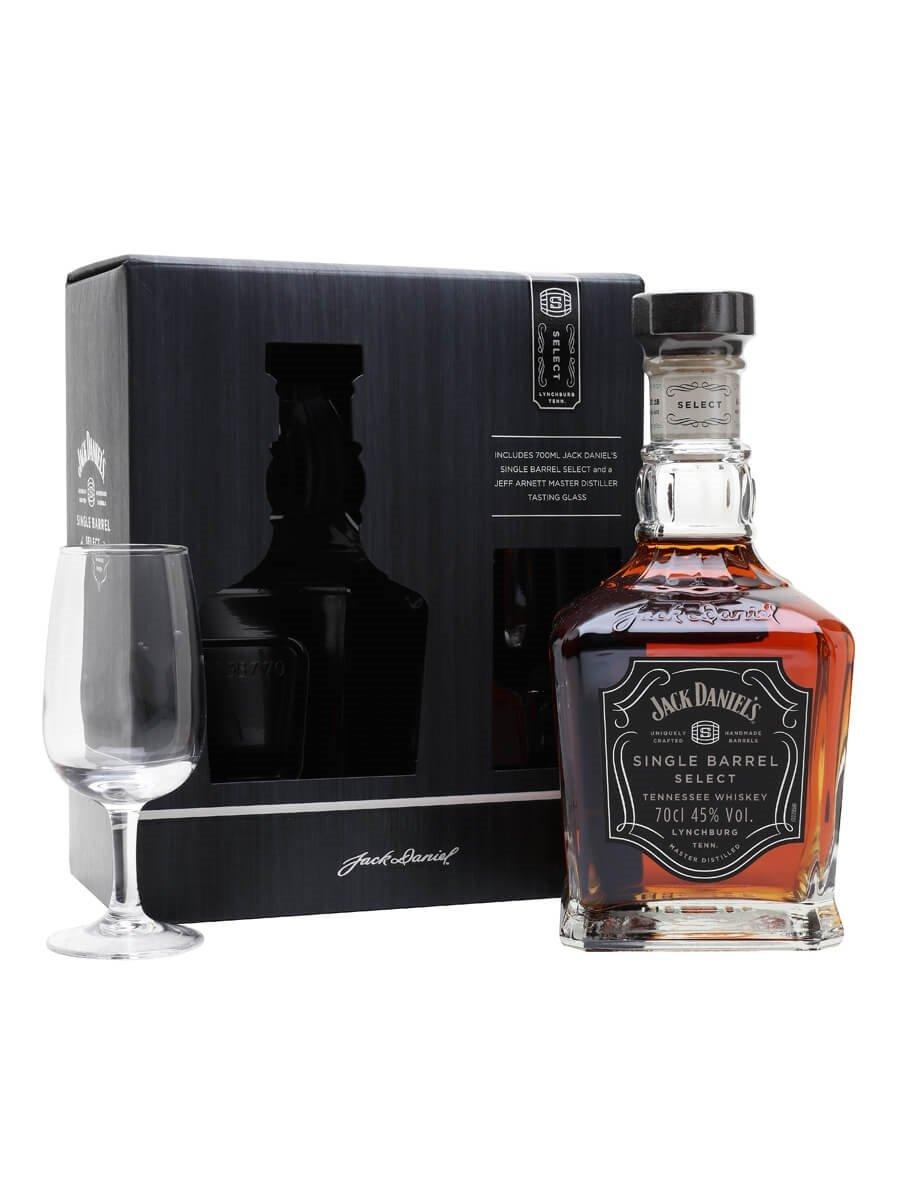 Jack Daniel's Single Barrel Select Nosing Glass Pack (45%)
