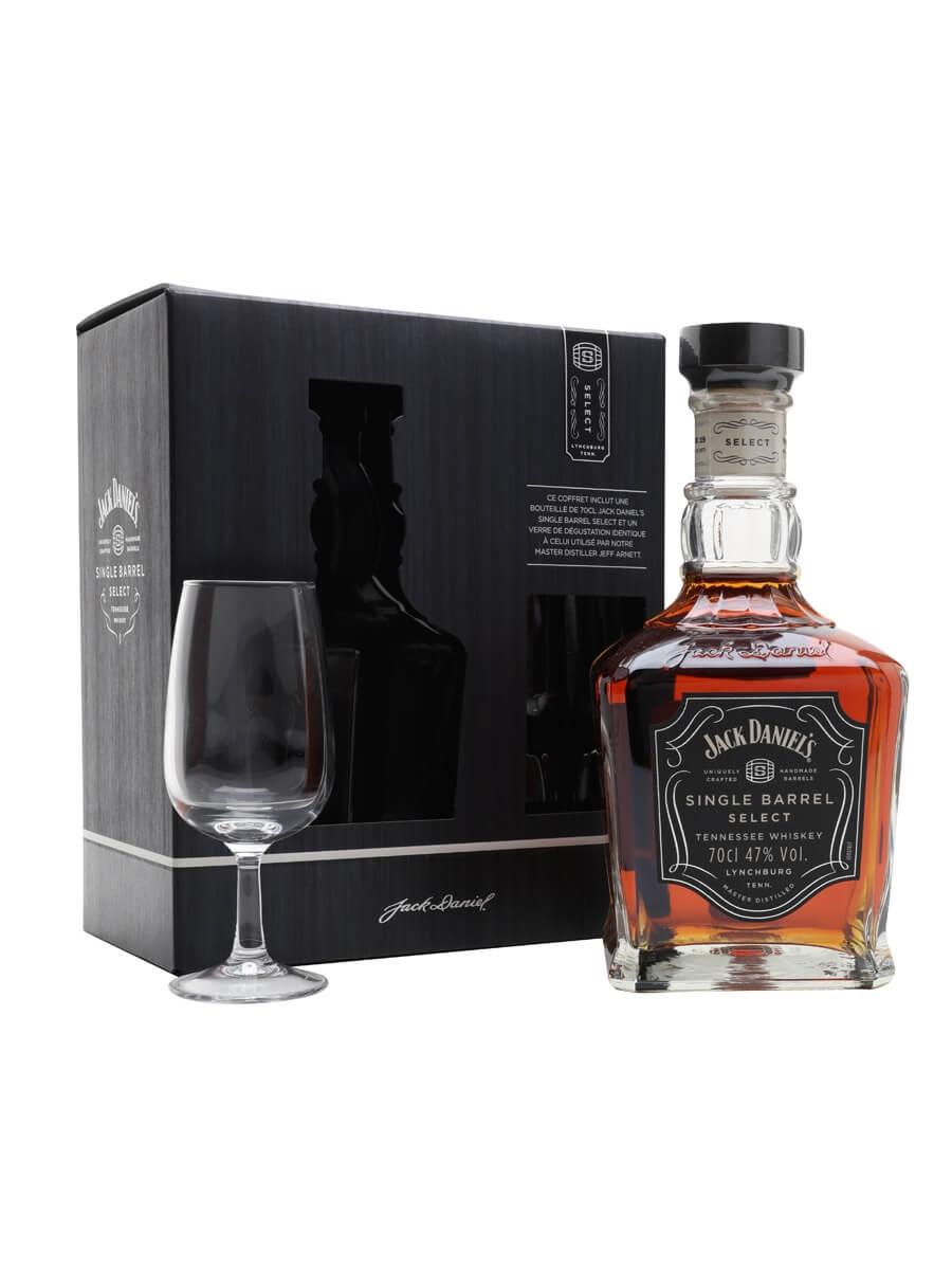 Jack Daniel's Single Barrel Select Nosing Glass Pack (47%)