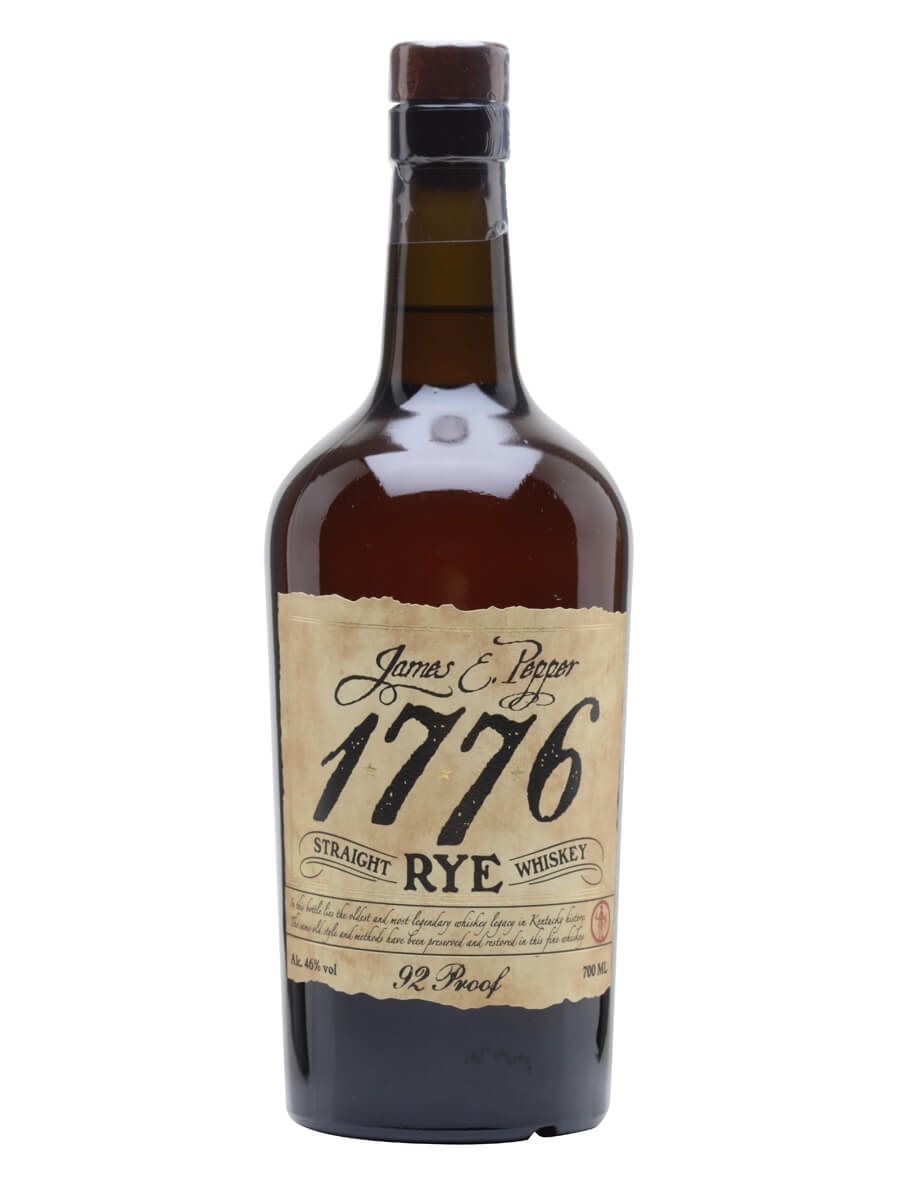 James E Pepper 1776 Rye