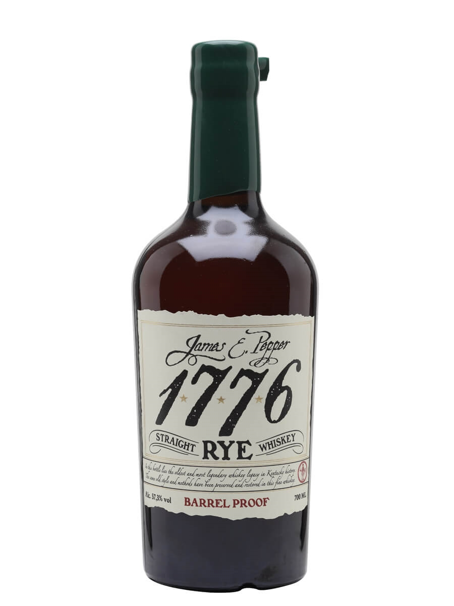 James E Pepper 1776 Barrel Proof Rye