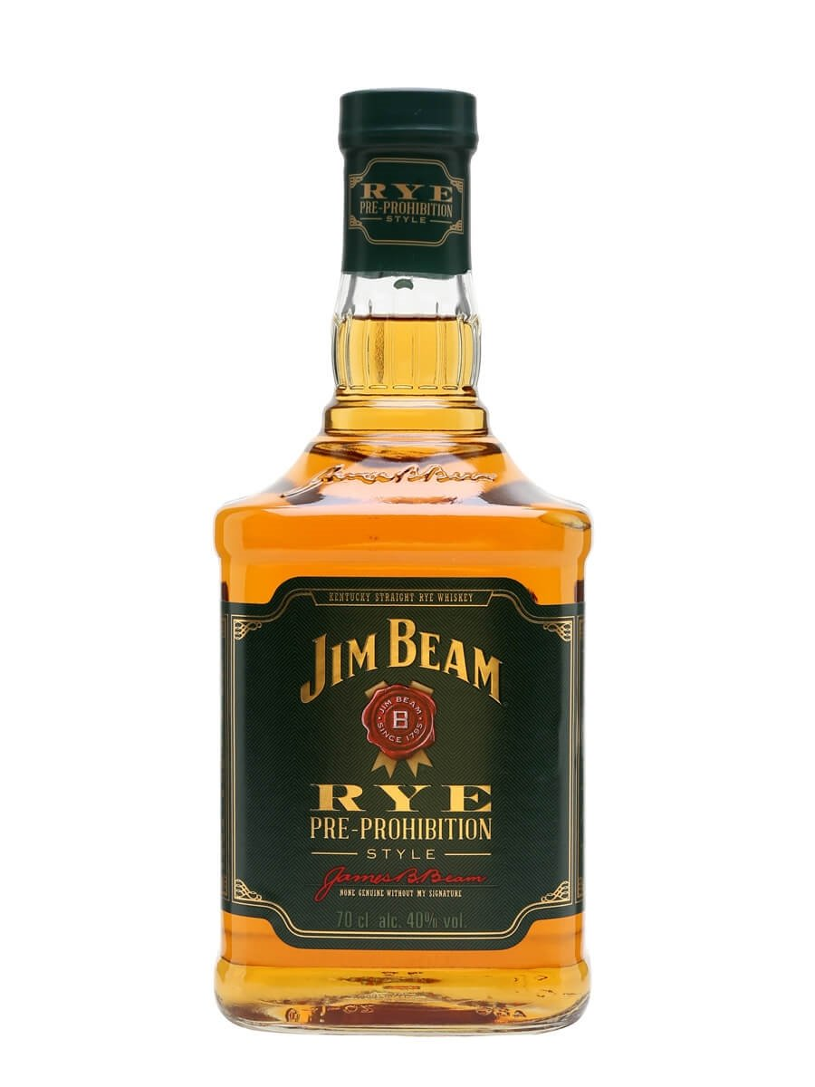 Jim Beam Rye Pre Prohibition Style The Whisky Exchange