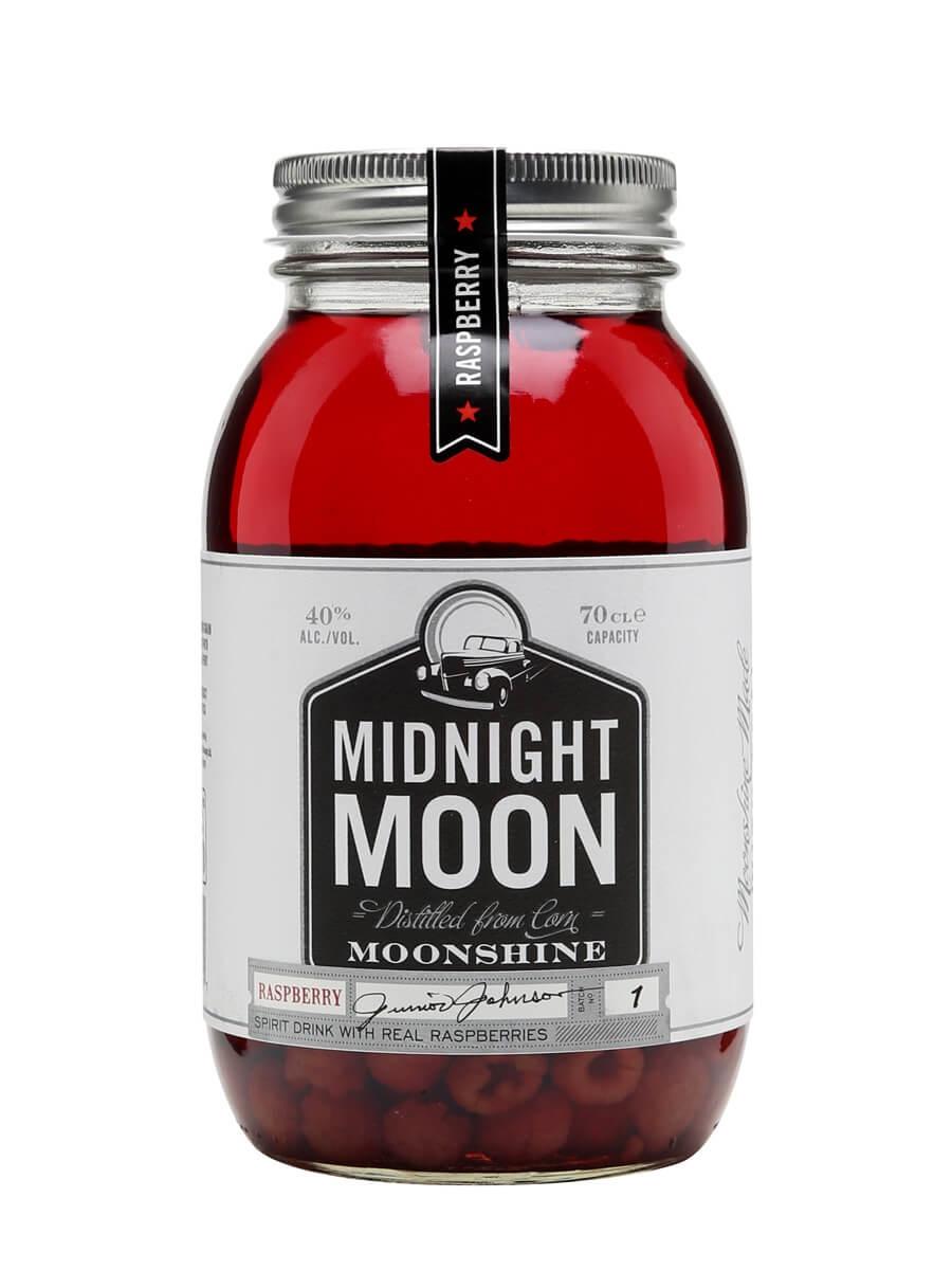 Midnight Moon Raspberry Moonshine / Junior Johnson's
