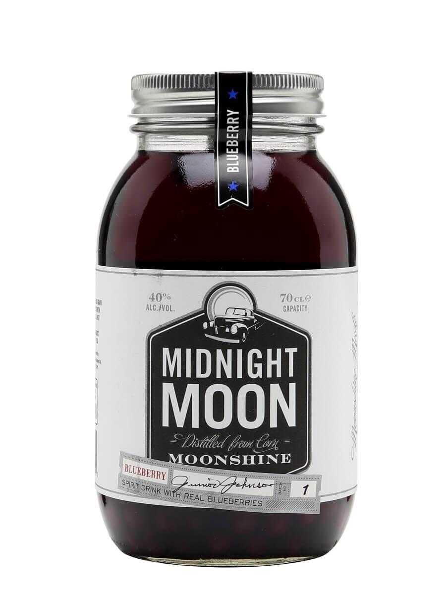 Midnight Moon Blueberry Moonshine / Junior Johnson's