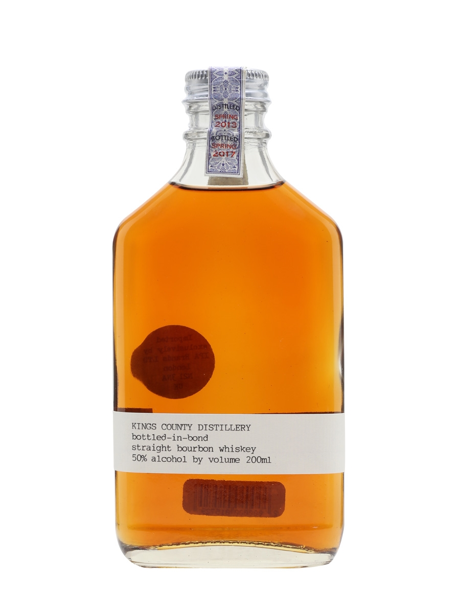 bbaeb341c Kings County Bottled-in-Bond - 4 Year Old   The Whisky Exchange