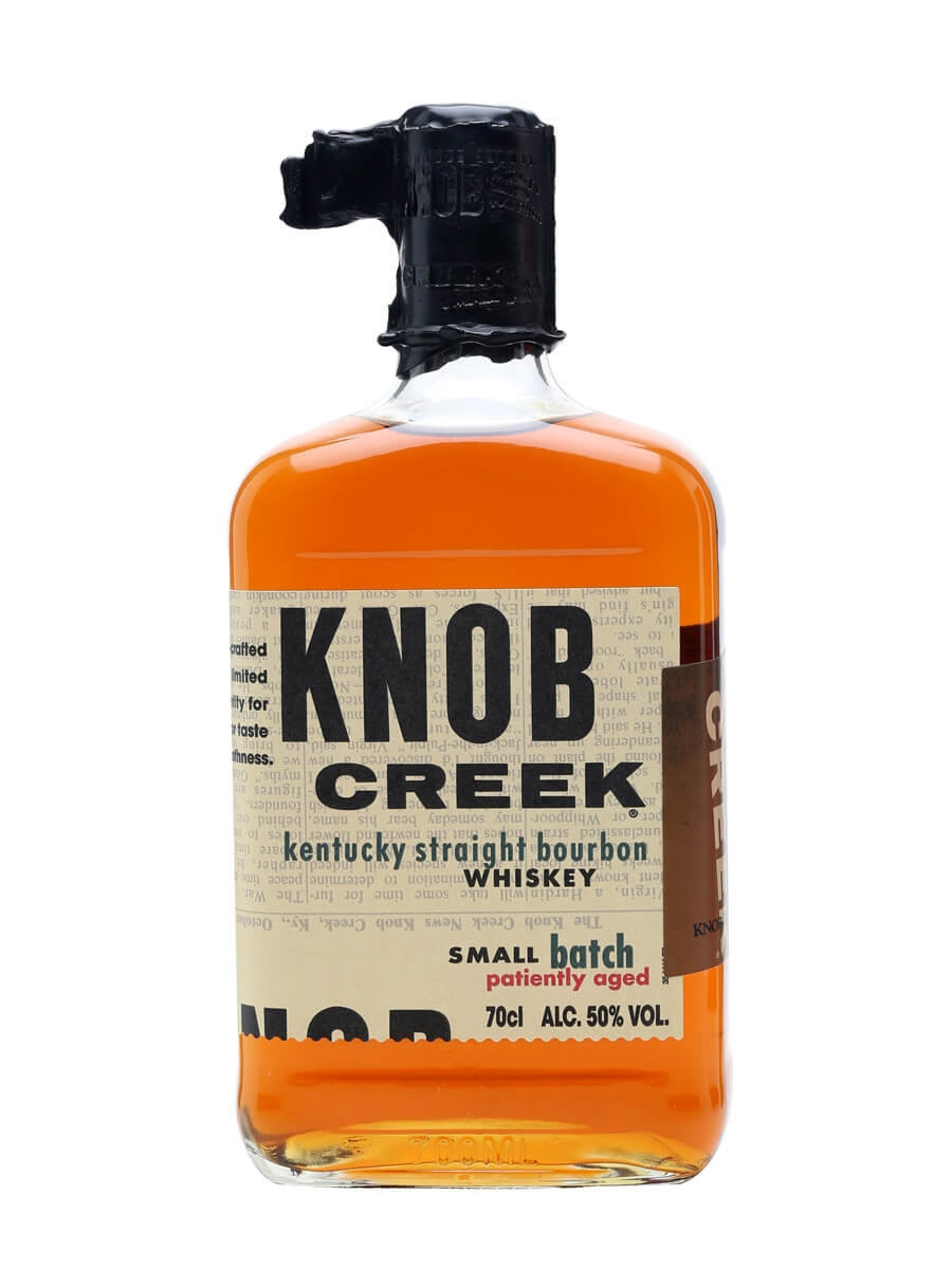 knob creek single barrel reserve 9 year old the whisky exchange