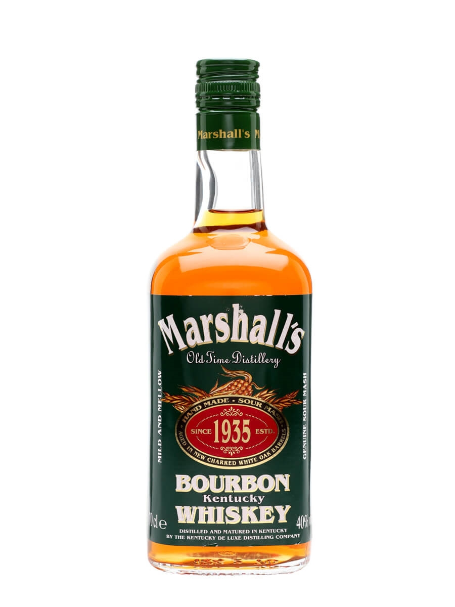 Marshall\'s Kentucky Bourbon Whiskey : The Whisky Exchange