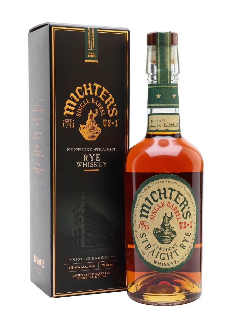 Michter's US*1 Single Barrel Straight Rye / Gift Box
