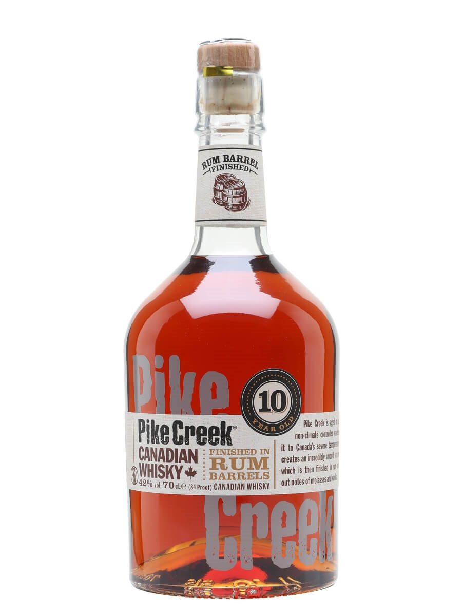b9af8c4c06d1 Pike Creek 10 Year Old - Rum Finish   The Whisky Exchange